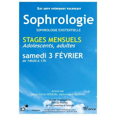 STAGE DE SOPHROLOGIE (13/01/18)